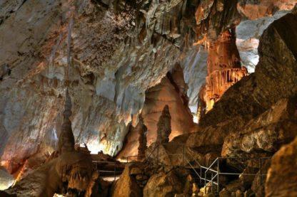 Абхазия. Пещера Новый Афон.