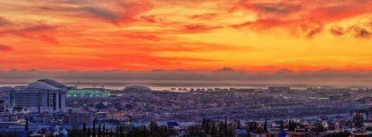 Олимпийский парк - фото на закате солнца.