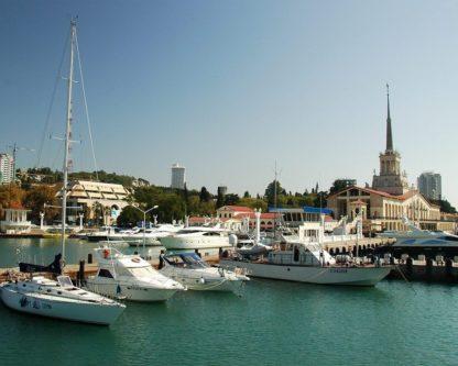 Морской порт. Индивидуальная экскурсия «Обзорная по Сочи + Олимпийский парк»