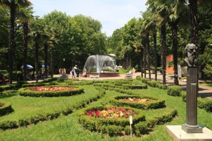 Ривьера-парк развлечений и отдыха в Сочи.