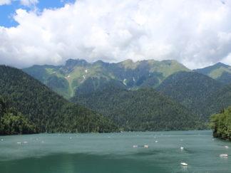 Экскурсия на озеро Рица + Пицунда.