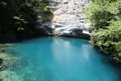 Экскурсия из Адлера в Абхазию. Голубое озеро.