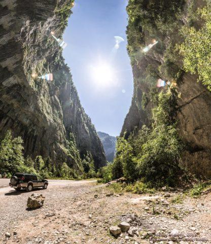 Юпшарский каньон. Экскурсия на озеро Рица. Абхазия.